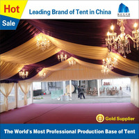 Luxury white wedding tents for sale