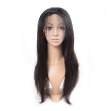 Ideal wholesale 100% raw unprocessed brazilian human hair full lace wig