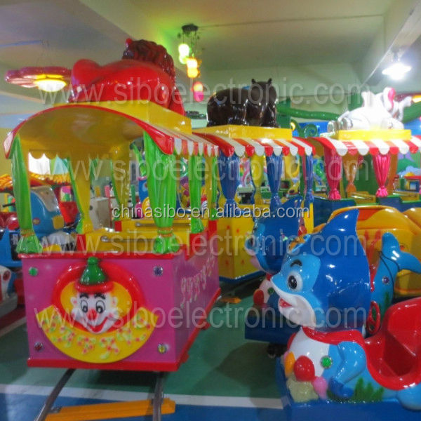 GMKP For kids cartoon design tourist electric Mini Train