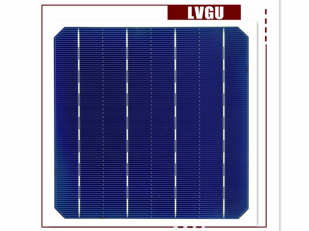 19.2%-20.2% 4.69W-4.94W high efficiency 4BB Mono solar cell for solar panel