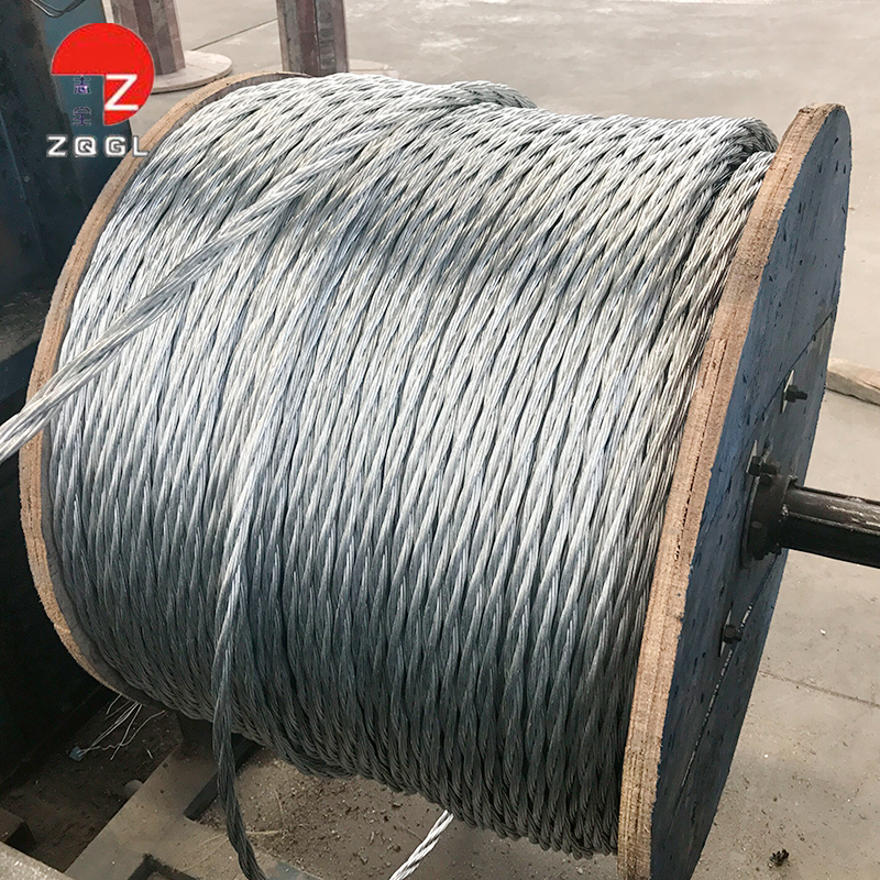 High Carbon Steel Dia 3/4 In 3x7 Barrier Cable For Highway Cable ...