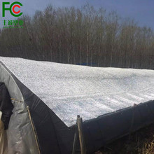 UV stabilized greenhouse roof shade net aluminet 70% shade rate
