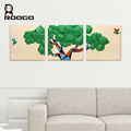 ROOGO Wall Decorative Large Wall Hanging Green Tree Statue for Sale