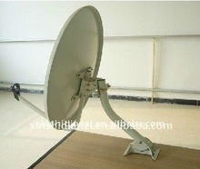 ku band solid steel dish satellite antenna