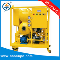 Automatic control type high vacuum transformer old oil centrifuge machines