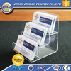 customized 3 tier floor stand wallet display stand acrylic phone jacket display rack case cheap