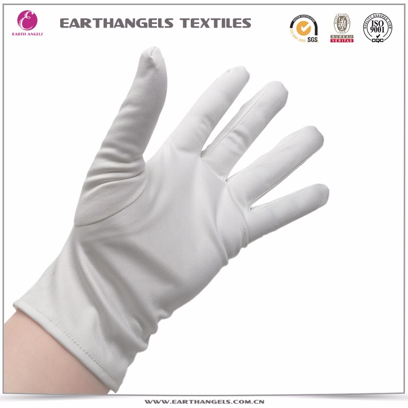 Custom microfiber jewelry cleaning gloves with logo