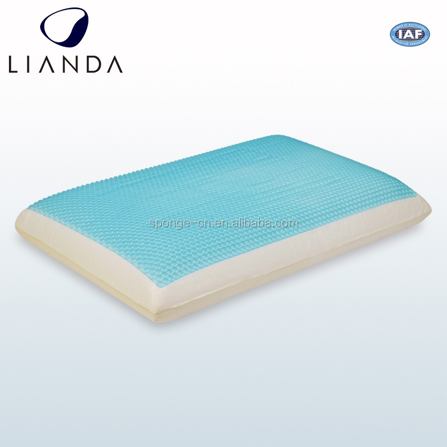 New Product Machine Washable Pillowcase Adult Cool Neck Care Home Use Ice Cooling Gel Memory Foam Neck Pillow