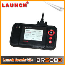 2013 New Released Auto Code Reader Launch X431 Creader VII+ Equal to CRP123 ABS SRS Creader VII Plus Update Via Offical Website