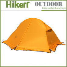 Manufacture Naturehike 4 seasons one person double layer camping tent silicone tent aluminum pole tent