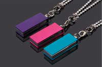Custom Real Capacity Metal Necklace Special Usb Flash Drive Bulk Cheap