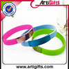 Hottest silicon product silicone color coat wristbands