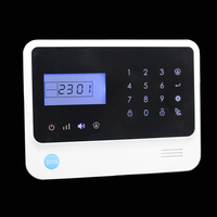 wireless smart home automation alarm system, simple safe home security alarm system with panic button
