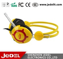 Headphones Factory Computer Wired Headphones Silicone Earmuffs headphones