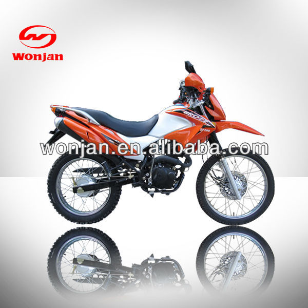 China cheapest air coolling 200cc dirt motorcycle(WJ200GY-III)