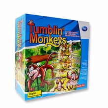 Falling Tumbling Monkey Board Game Toy