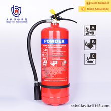 4kg CE approved cylinder ABC dry chemical powder fire fighting extinguisher equipment