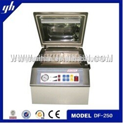 semi-automatic vacuum packing machine meat/food