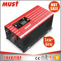 MUST CE Approved Off Grid 6000W 48v Dc Ac Home Inverter with Battery Charger