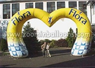 2015 Hot sale custom made inflatable advertising arch best quality N4043