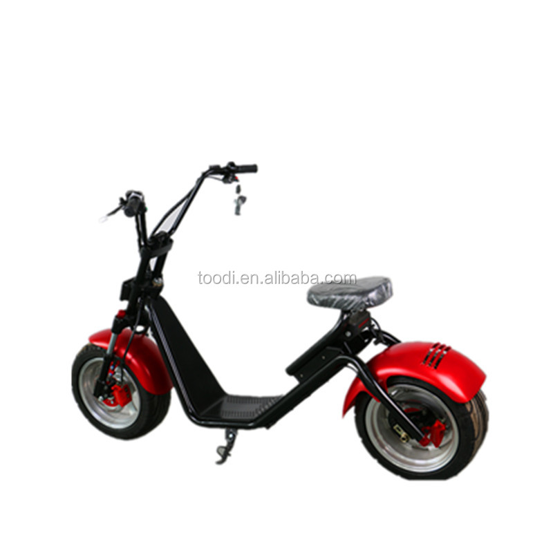 2017 new fashion product citicoco bike ,electric scooter with big wheels