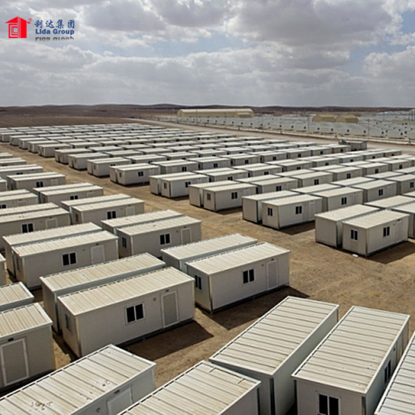 Prefabricated Modular Flat Pack Container Accommodation for Sale
