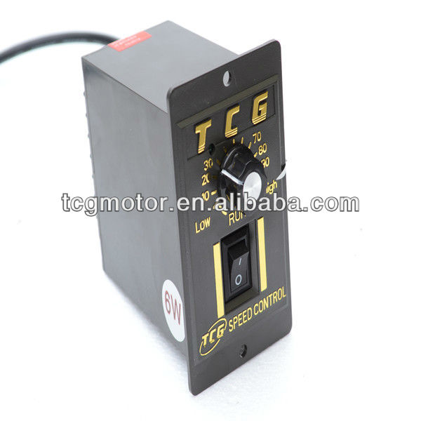 TCG Electrical continuous variable speed Controller Motor