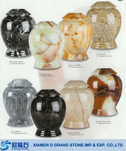 natural stone wholesale funeral marble cremation urns