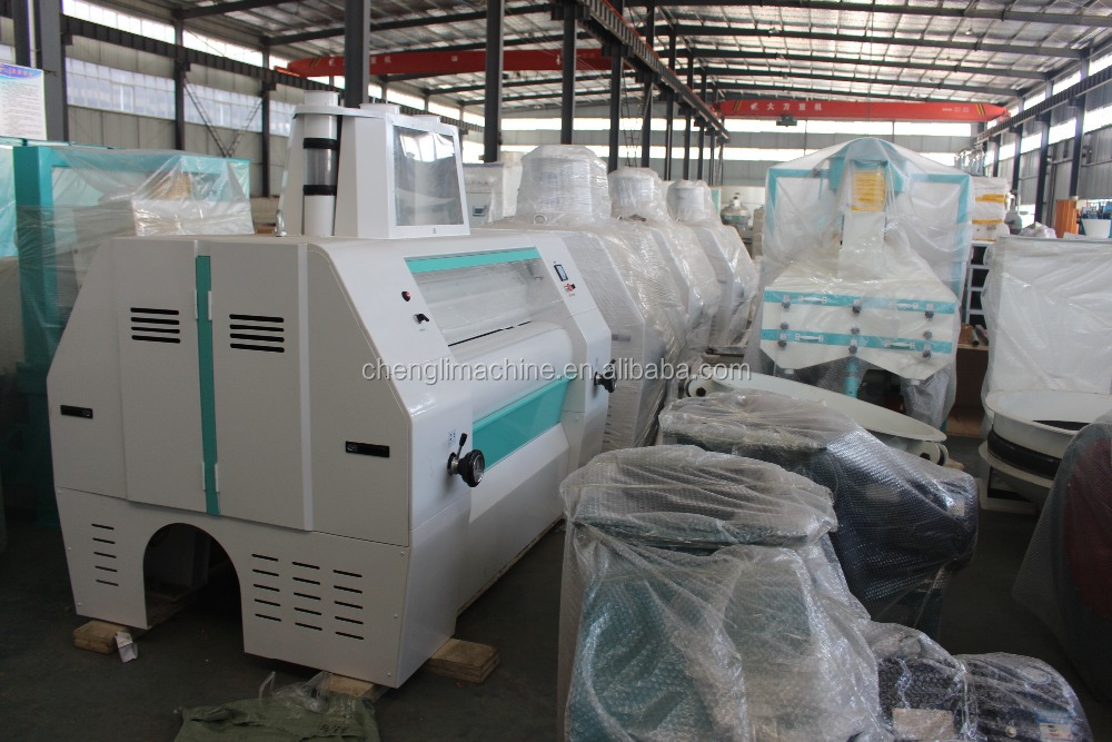 Capacity 50 T/Day automatic wheat/corn grinding machine for making finest flour/corn grinder for chicken feed,corn grinding