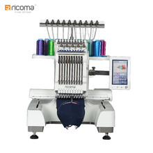 Ricoma Home embroidery machine EM-1010 with factory price Single head portable Embroidery Machine