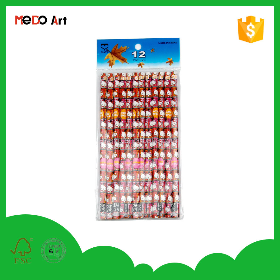 Factory direct sales cheap wooden pencil