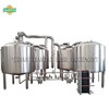 3000l beer production plant with steam heating