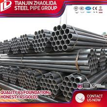 cold dia 10 - 101 mm chs hot rolled schedule 40 ms black light plain ends erw 89mm diameter round steel pipe
