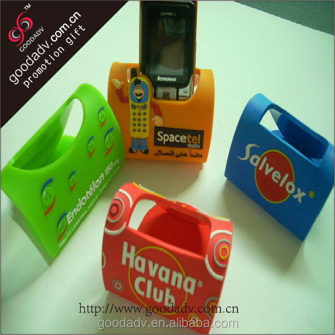 Famous brand promotional gifts soft mobile phone table holder