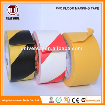 Wholesale Safety Warning Tape PVC Floor Marking Tape