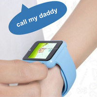 Wholesale New kids GPS smart hand watch mobile phone A2s bluethooth Android smart watch