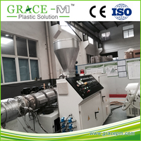 Price of plastic extrusion machine for CE 20-110mm PVC pipe production