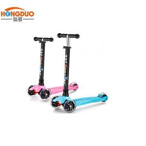 Nylon material cheap scooter for 2-12 years old kids