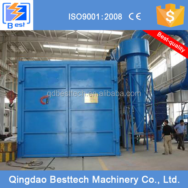 100% new design 40ft container sand blasting room
