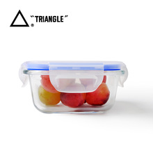 Wholesale Cheap collapsible lid Leakproof bento lunch box