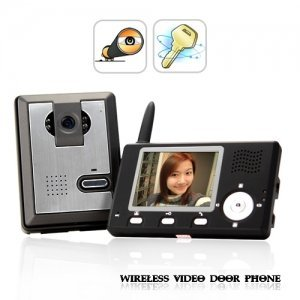 Entry Guardian - Wireless Video Door Phone (CMOS Sensor)
