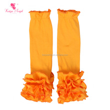 Boutique Wholesale Cotton Knitted Children's Leg Warmer Solid Color Baby Girls Leg Warmers