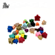 Custom assorted wooden meeples 24mm for board game and card game