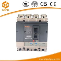 NS 250A 4-pole switch circuit breaker with general electric voltage regulators
