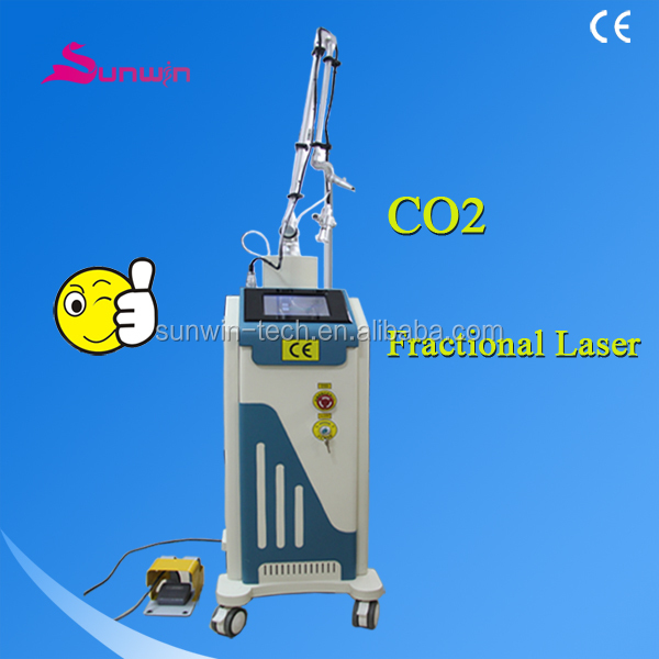 (SW-333E)RF excited CO2 fractional laser with SFDA and Medical CE