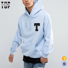 Guangzhou clothing factory men supreme hoodie pullover embroidery towel oversized hoodie