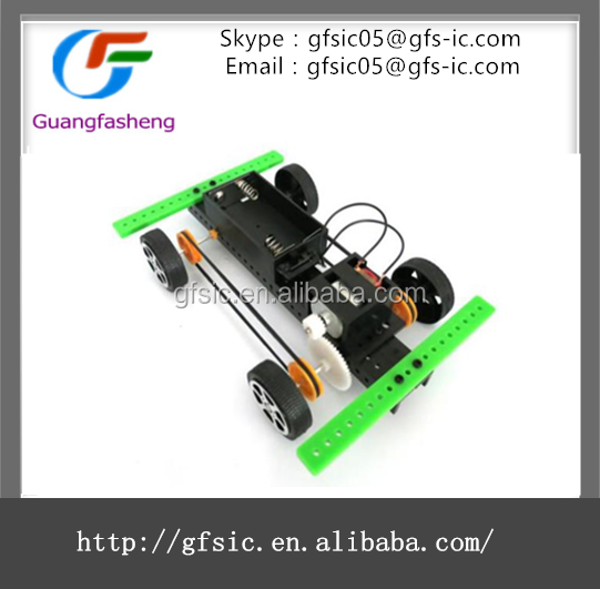 Four-wheel Drive Car Kits Educational DIY Robotic Toy Model with high quality