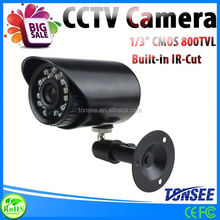 "Color 1/3"" CMOS 800TVL IR-Cut lilin security Camera"