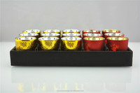 different types of decorative glass candle holder