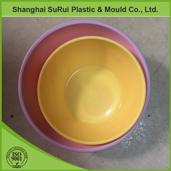 Injection molding custom made cheap plastic pet bowl